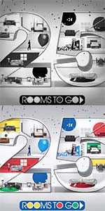Rooms To Go 25th Anniversary